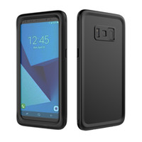 Wholesale Ip68 Case - IP68 10M Deep Slim Waterproof Case For Samsung Galaxy S8 S8 Plus Cover Water Proof 360 Full Body Protective Shockproof Cas