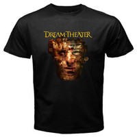 Wholesale Funny Band Shirts - New DREAM THEATER *Scenes from a Memory Rock Band Men's Black T-Shirt Size S-3XL Tops Summer Cool Funny T-Shirt