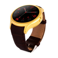 Wholesale Wifi Sim Watch - Smart Watch X1 watch phone compatible iphone android with sim bluetooth wifi heart rate leather band watchphone PK KW88 DM368 S99 LF16 Blitz