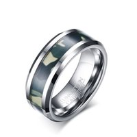 Wholesale Naval Rings - Free Shipping Men's Finger Rings Silver Plated Personlized Naval style Stainless Steel Ring For Women Men Jewelry Wholesale