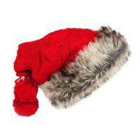 Wholesale Girl S Crocheted Hats - New Women Winter Hats Girl 's Skiing Hat Beanies Knitted Cap Crochet Hat Rabbit Fur Pompons Ear Protect Casual Caps Chapeu Feminino