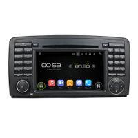 Wholesale Chinese Classes - Fit Mercedez Benz R-Class W251 W280 W300 W320 W350 W500 (2006-2011) Android 5.1.1 1024*600 HD car dvd player gps radio 3G wifi BT dvr OBD2