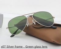 Wholesale Man Aviator Coat - 2017 Aviator Unique Hexagonal Flat Lenses Sunglasses Brand Designer Sunglasses Metal Frame Coating Sunglasses with Retail Package