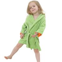 Wholesale Plain Baby Towels - IDGIRL Hooded Bathrobe 5 Colors Cartoon Animal Beautiful Dinosaur Style Baby Cotton Towel Girls Clothing Pajamas 7JY0245