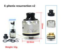 Wholesale Phoenix Clone - Free Shipping E-Phoenix Resurrection V2 SXK New Coming 1:1 clone version VS SXK improved version E-Phoenix V2 rda