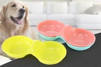 Wholesale Cheap Wholesale Dog Bowls - Hot sale cat feeders for dog pet food bowl pet supplies for feeding cat dog dishes 3 colors cheap feeders in stock
