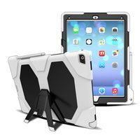 Wholesale Combo Tab - silicone pc combo everyproof shockproof kickstand hybrid case for ipad mini 2 3 4 air air 2 samsung galaxy tab T550 T560