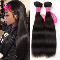 indian products wholesale price Canada - Unprocessed Virgin Human Weave Hair Brazilian Straight Hair 3Bundles Wow Queen Products Cheap Wholesale Price Brazilian Hair Extensions