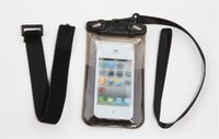 Wholesale Durable Mobile Phone Case - Universal clear waterproof pouch bag with armband PVC durable bag dry case underwater waterproof cover for mobile phone
