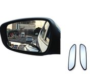 New blind spot mirrors for cars - Pair of Long Design Car Mirror for Blind Side for Traffic Safety Vide Rear View Mirror