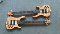 Wholesale maple bass - Wholesale-2016 new + factory + ken smith 5 strings bass quilted maple top active pickups custom ken smith electric bass Free shipping