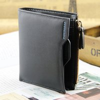 Commercio all'ingrosso - Short-Vertical Short-sleeved Verticale Faux Leather Wallet Bifold Card Frizione Multi-slot BVQQ