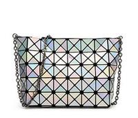 Wholesale Single Green Laser - Wholesale- 2015 New Fashion Baobao Bag Ladies Geometric Plaid Laser Women Handbag Brand Designer Tote Bag Shoulder Bag For Women