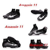 Wholesale China Outdoor Boots - 2017 China High Quality new products Superfly V FG38-45 Men soccer boots original quality men soccer assassin 11 sports shoes