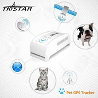 Wholesale TKSTAR MiNi Pet GPS Tracker Necklace GSM GPRS TK909 Real Time SOS Tracking Long Standby Time For Dog Cats Pets with retail box
