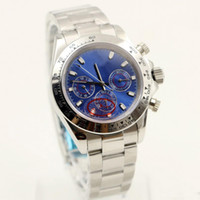 Wholesale Buckle Suppliers - DHgate AAA selected supplier 2017 new luxury brand watches man 116508 blue dial stainless watch automatic watch mens dress watches