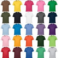Wholesale Men S Clothes Wholesale Prices - Factory price solid color polo shirts male clothing Size XS~2XL Round neck men t shirts Fashion cotton man short sleeve tees polos