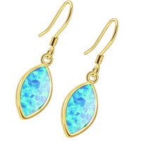 925 Prata Esterlina Amarelo Ouro Rosa Ouro Natural Gemstone Mystic Opal Mulheres Dangle Earrings Wedding Prom Gifts