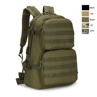 Outdoor Sports Waterproof Tactical Pack Bag / Sac à dos / Knapsack / Assault Combat Camouflage Tactical Sac à dos Camo Molle NO11-009