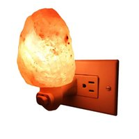 Wholesale Natural Led Candle - Himalayan Salt Nursery Night Light   Crystal Rock Decor   Natural Air Purifier (Sphere) Adjusts 360 degrees around for horizontal sockets