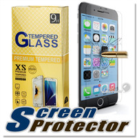 Wholesale S6 Pro - For Iphone X 8 Tempered Glass Screen Protector For Iphone 7 Galaxy S6 LG K20 LG Aristo Stylo 3 Zte max Pro 0.26mm 2.5D 9H Anti-shatter