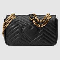 Wholesale Pink White Evening Bag - New High quality chain single shoulder messenger purse lady fashion evening bag women popular casual bag black red pink White  Domybest 1234