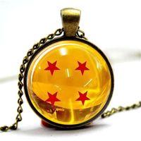 Wholesale photo gifts wholesale - 10pcs lot Dragonball Z Necklace Glass Photo Cabochon Necklace