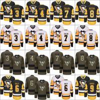 2017 Stanley Cup Champions 3 Olli Maatta 4 Justin Schultz Trevor Daley 7  Matt Cullen 8 Brian Dumoulin 9 Dupuis Pittsburgh Penguins Jerseys f27f81eb4