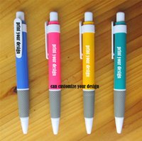 Wholesale Advertisement Printing - plastic ballpoint pens advertisement ballpoint pens can print make customize your company design pattern promotional gift