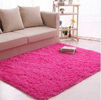 Wholesale Flocking Carpet - Hot Selling Living Room Bedroom Large Floor Rugs for Home Carpet Yoga Mat Floor Mat Cover Carpets Floor Rug Area Rug 80x120cm