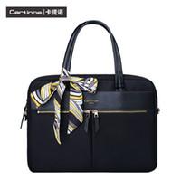 Wholesale Messenger Bag Ipad Sleeve - Wholesale fashion laptop sleeve bag case for women iPad macbook air pro 15.4 inch handbag notebook one shoulder bags