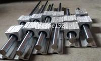 Wholesale Slide Cnc - 2 X SBR20-500 1500 3000mm 20mm FULLY SUPPORTED LINEAR RAIL SHAFT +12 SBR20UU Bearing Block CNC