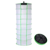 Hanging Drying Net 8 Tier Idroponica Grow Tent Dry Rack Aiuta erbe asciutte Bud Flowers Materiale vegetale Vestiti Facilmente