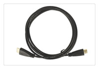 Wholesale Video Game Monitors - 2.0 M Standard HDMI cable male-male white blue black V1.4 version video cables for computer DVD payer  monitors   Game vention