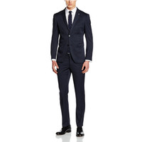 Wholesale Buy Black Dresses - Men selected high quality pure color suits the classic black dress the groom, holds the suit suits are free to choose and buy