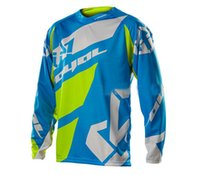Wholesale Colours Shirts For Men - Hot sell! NEW FOR YETI moto Jersey MX MTB Off Road Mountain Bike DH Bicycle moto Jersey DH BMX motocross jersey 5 Colour
