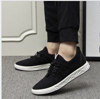 Wholesale Men Cloth Wholesale - new spring summer and autumn man causal shoes running shoes flying weave cloth Breathable shoes lace up US SIZE 5.5-10 A1718