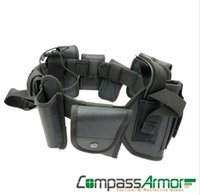 Wholesale Outdoor Tactical Belt Multifunctional Security Belts Training Polices Guard Utility Heavy Duty Combat Belts sets