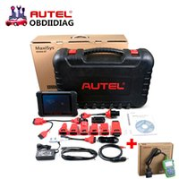 Wholesale Get Scanner - Wireless Autel MaxiSys MS906BT MaxiSys MS906 BT Auto Diagnostic Scanner Support Multi-languages Get Obdstar F109 As Gift