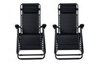открытый патио стулья оптовых-Новый Нулевой Гравитации Кресла Из 2 Гостиная Патио Стулья Открытый Двор Пляж