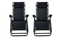 Wholesale Outdoor Modern - New Zero Gravity Chairs Case Of 2 Lounge Patio Chairs Outdoor Yard Beach