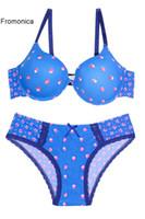 Wholesale Sexy Satin Bra Set - Women Bra Set 2017 Hot Sexy Push Up Bra Satin Luxury Lace Flower Charming Underwear underwire Brief Lingerie Plus size