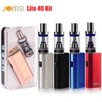 metal buhar sigarası kitleri toptan satış-JomoTech Lite 40 Kiti Başlangıç vape kitleri Jomo 40 w kutusu mod mini bulit-in 2200 mAh pil buharlaştırıcı kitleri 3 ml Lite tankı e sigara buharları DHL