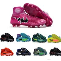 Wholesale Gold Acc - New Arrival Magista Obra 2 II Men's Football Boots With ACC Mens Soccer Shoes Man Sneakers Soccer Cleats Outdoor Soccer Boots Football Shoes