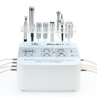 Wholesale Oxygen Probe - RF003 multifunction RF + ELECTROPORATION + Microdermabrasion + Oxygen Spray gun +Cooling Freeze Probe salon facial beauty spa machine