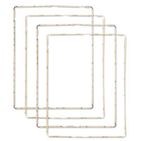 Wholesale Ipad Bezel Adhesive - For ipad 2 3 4 Touch Screen Digitizer LCD Middle Bezel With Sticker Adhesive