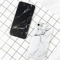 Wholesale Black Granite Stones - Diforate New Arrival Luxury Granite Stone Marble Texture Pattern Case For iPhone 6 6s Plus 7 7 Plus Soft IMD Phone Cases Cover