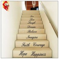 Love Live Laugh Dream Believe Imagine Faith Courage Happiness Hope Английская пословица Стена Цитата Decal Sticker English Words Wall Decor