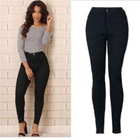 Wholesale Most Skinny - Wholesale- The most Women Pencil Stretch Casual Denim Skinny Jeans Pants High Waist Trousers