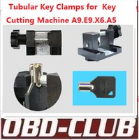 Sec E9 Key Schneidemaschine Tubular Clamp Für E9 / X6 / V8 / A9 / A7 / A5 Key Schneidemaschine Tubular Car Key Clamp Cut Tubular Keys